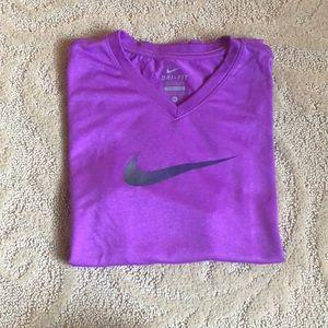 Nike Purple Shirt